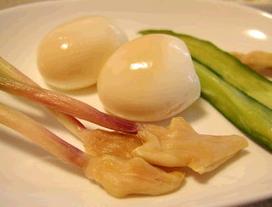 葉生姜の食べ方